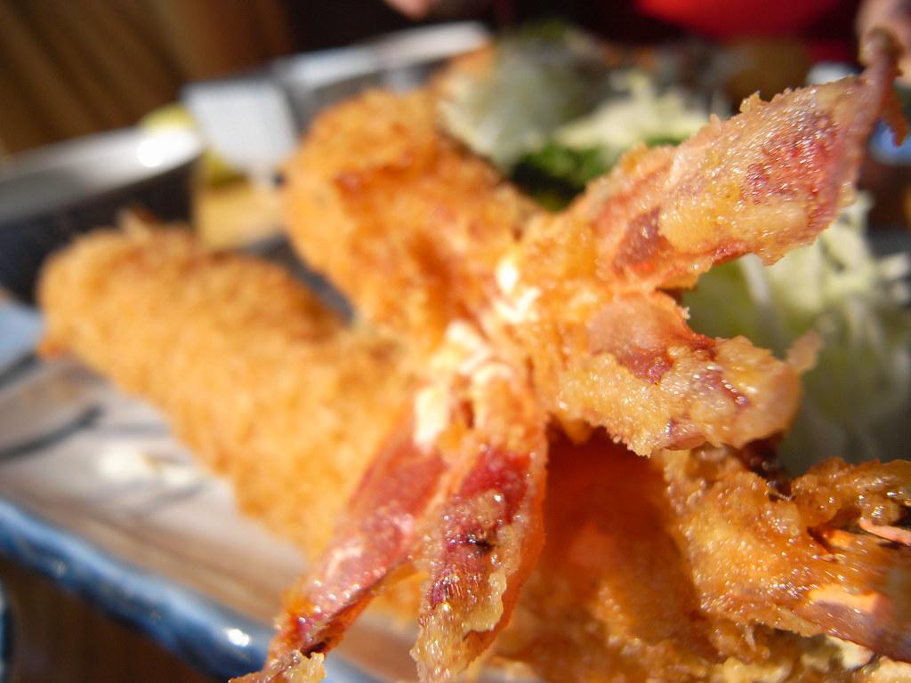 名古屋人の心 Fried prawn