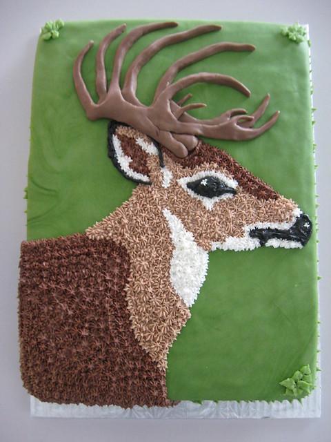Deer Hunting Cake Designs