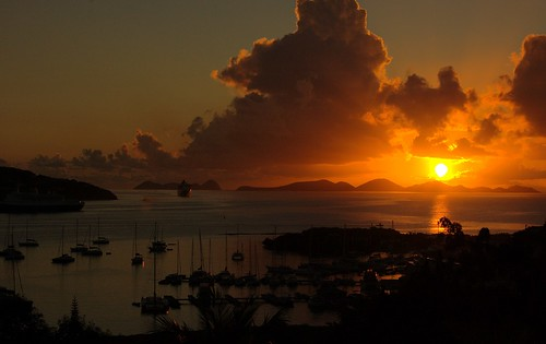 travel silhouette sunrise landscape dawn nikon yacht dusk gimp cruiseship caribbean tortola contrejour bvi britishvirginislands westindies ufraw intothelight d40 yourphototips