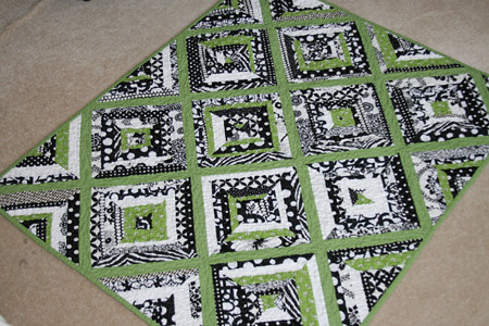 Easy Black And White Quilt Patterns - pincoloring