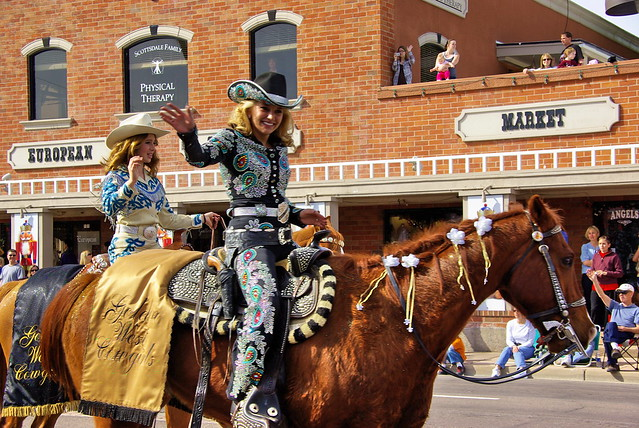 Golden West Cowgirl - Parada del Sol - it was fun while it lasted.