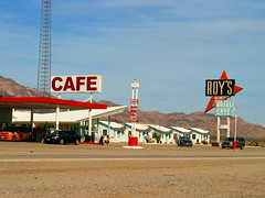 "Roy's Motel and Cafe — No. 2 | by ""Caveman Chuck"" Coker"