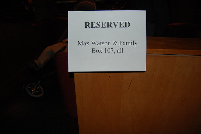 Reserved for Max