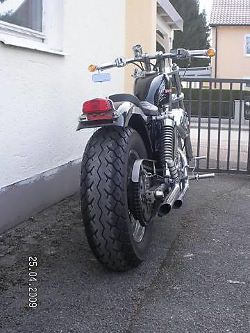 Harley Davidson Sportster XLCH 1977 r