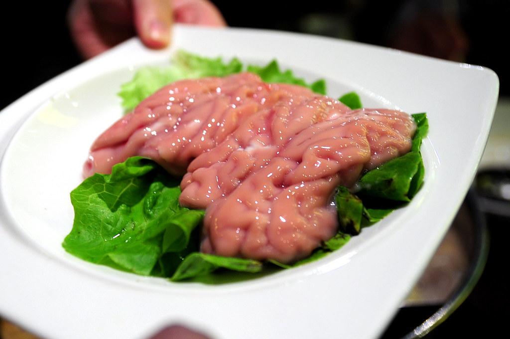 上海的小肥羊-豬腦花(15元)