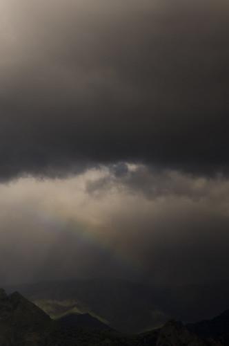 arcobaleno sull'Aspromonte