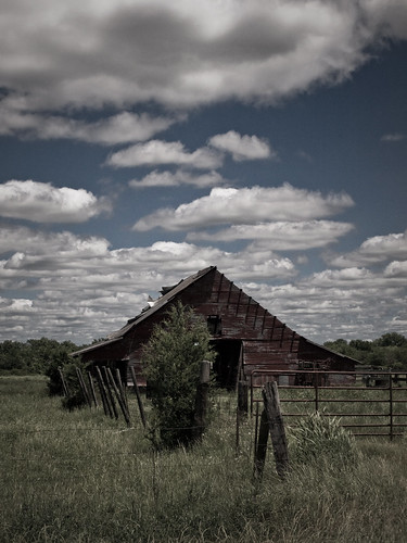 old blue red sky clouds barn rural texas olympus greenvilletexas e410 top20texas bestoftexas gtowneric