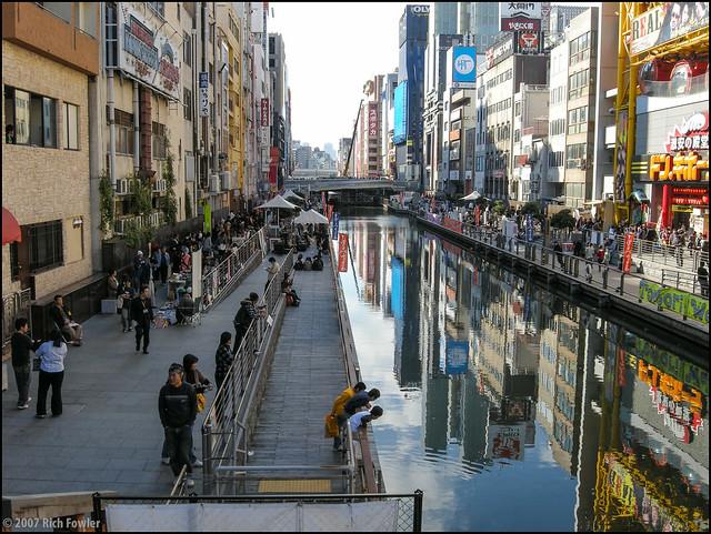 Dotonbori Canal