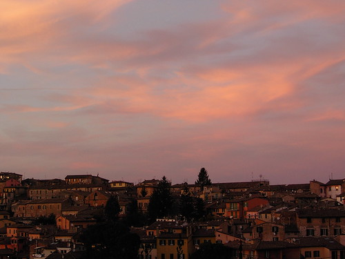 The warmth of Perugia