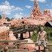Jamison in front of Big Thunder Mountain Railroad at the Magic Kingdom. by Jamison Wieser
