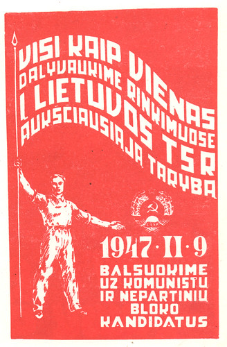 poster soviet time - 1953 by sonobugiardo