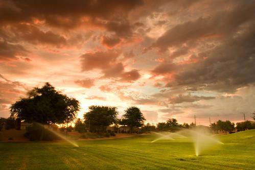 arizona sky orange 20d clouds canon landscape fire photoblog portfolio chandler cloudscape