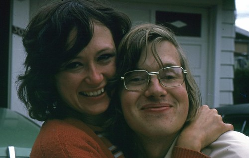 Laura and Russ in 1974