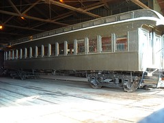 Passenger Car at the California State Railroad Museum,  111 I St 1