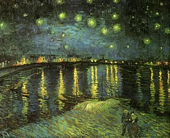Van Gogh, Vincent (1853-1890) - 1888 Starry Night Over the Rhone