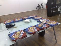 Pizza courtesy of Campaign Monitor