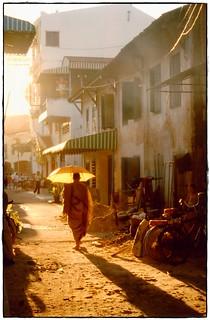 Buddhist monk in Cambodia