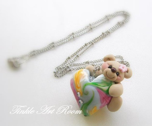 Teddy Bead Necklace