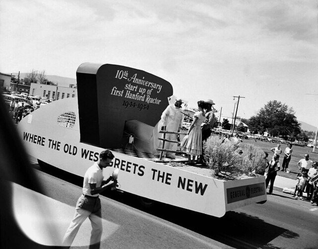 Atomic Frontier Days, GE Float, 1954