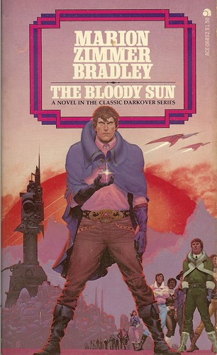 Bloody Sun - Marion Zimmer Bradley - cover by Michael Whelan