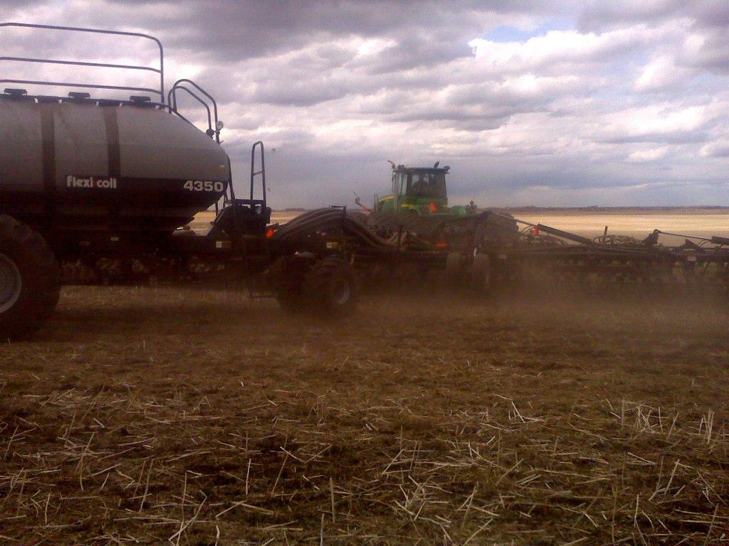 Seeding season