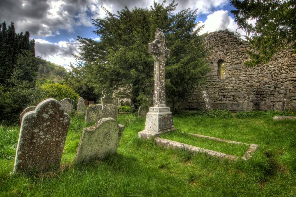 Leaning Gravestones