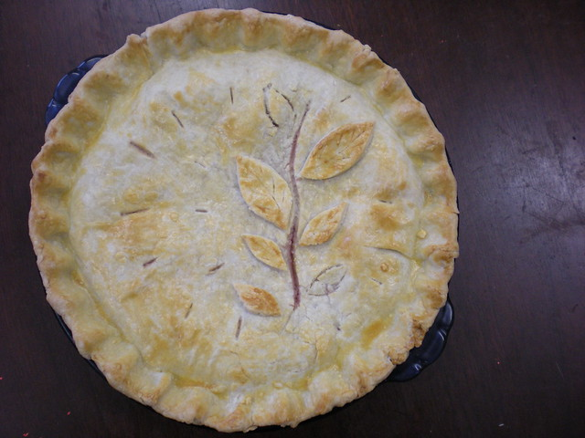 Pear raspberry pie with frangipane. | Flickr - Photo Sharing!