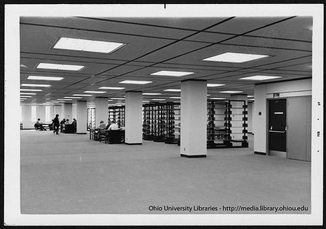 Ohio University Alden Library Reserve Room