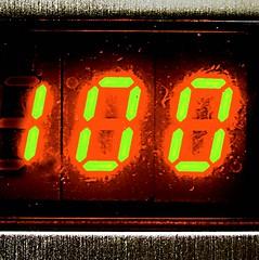 countdown : 100 to zero