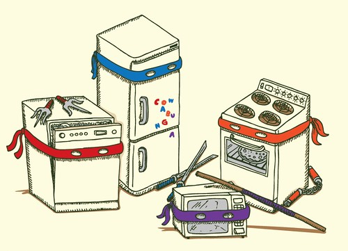 Teenage Mutant Ninja Kitchen Appliances