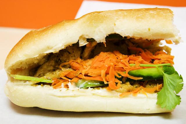 Lemongrass tofu | Q.T. Vietnamese Sandwich Banh Mi Xa Chay | By ...