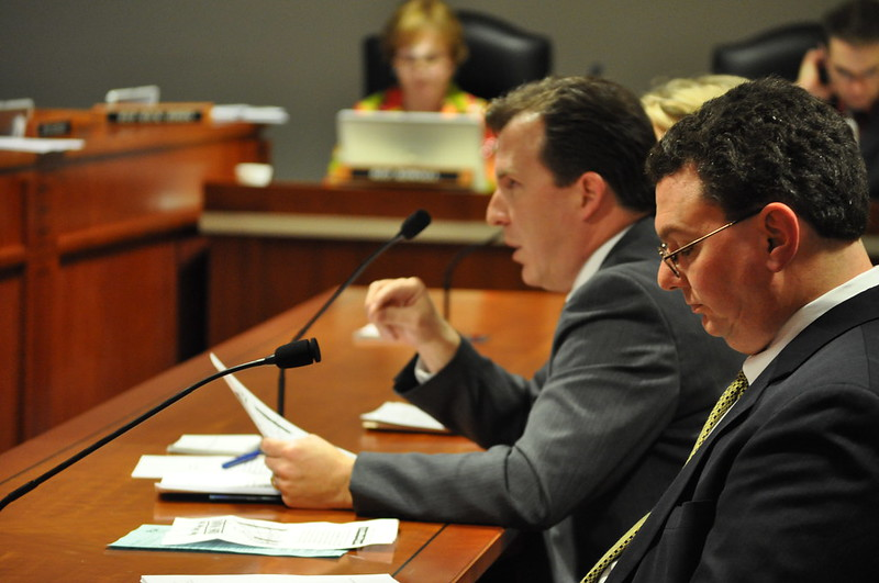 Michigan Representative Douglas Geiss  and Others Testify About the Need for Online Legal Notices