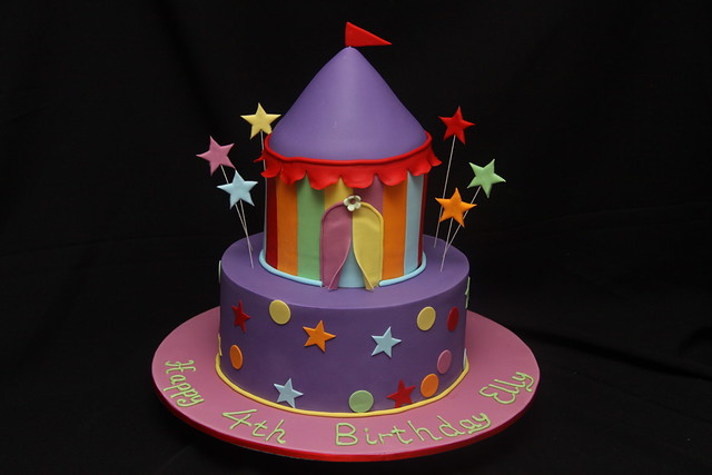 Elly s 4th Birthday - Carnival theme This cake was made ...
