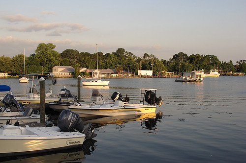 canon evening pier boat waterfront florida powershot g12 crystalriver april2011
