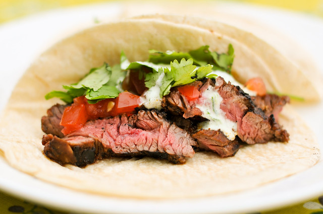 Skirt Steak Tacos