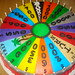 Armed Services Week on the Wheel of Fortune www.charleyandthecakefactory.com by Charley And The Cake Factory