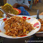 Burmese Food, Spicy Noodles - Bagan, Burma