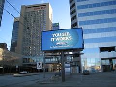 Edmonton's first digital billboard?