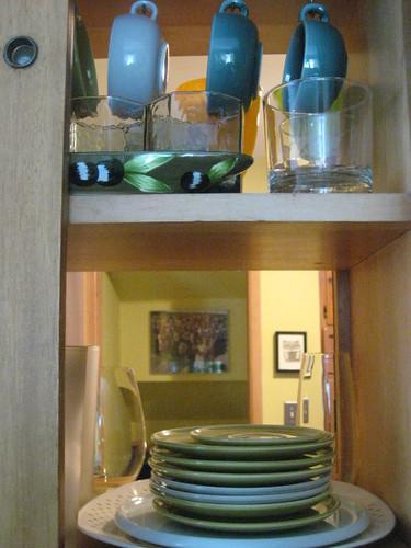 Kitchen Cabinets Pass-Through
