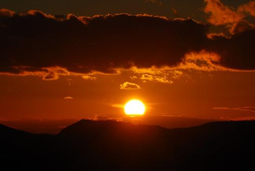 sunset españa atardecer dawn spain nikon aracena d60 nikond60