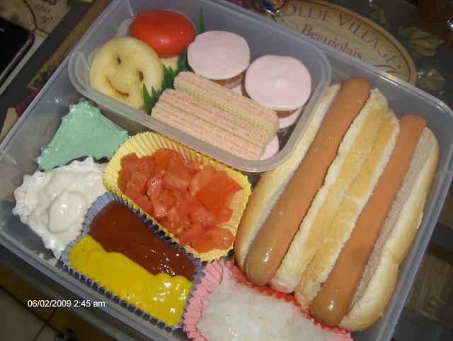hot dog bento 7 flickr photo sharing. Black Bedroom Furniture Sets. Home Design Ideas