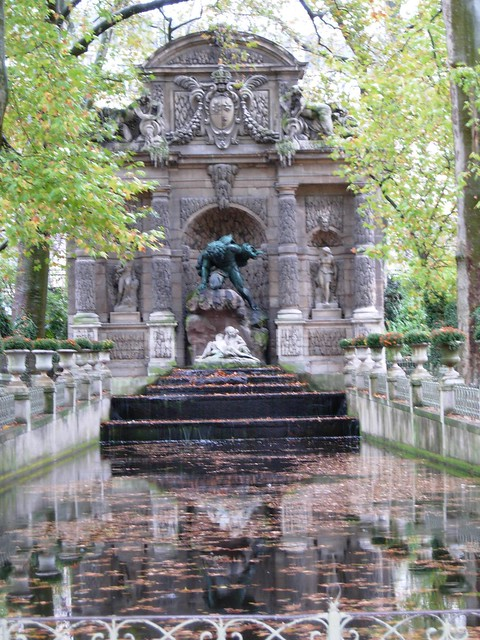 Fontaine de m dicis jardin du luxembourg flickr photo sharing - Fontaine jardin du luxembourg ...