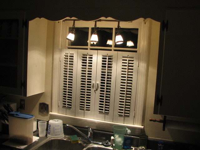 a favorite update new kitchen light over the sink