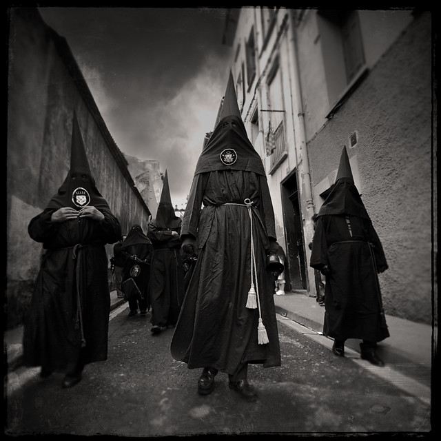 "Blood procession 01 (Perpignan- France- ""Procession de la Sanch"")"
