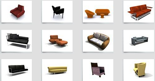60 excellent free 3d model websites hongkiat for Muebles oficina 3ds max
