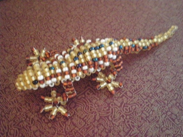 beaded lizard flickr photo