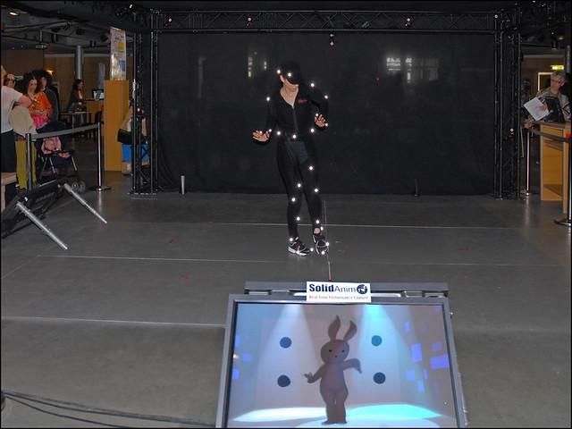 """Démonstration de """"motion capture"""" (Futur en Seine, pavillon de l'Arsenal), by dalbera"""