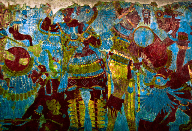 El Mural de la Batalla / Battle Mural (or ancient Photoshop...)