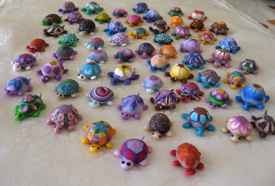 Image result for polyclay turtle