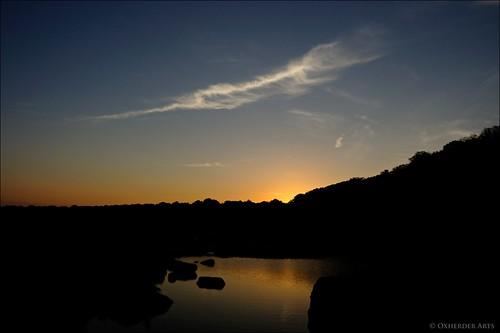 sunset night dusk pedernalesriver pedernalesstatepark